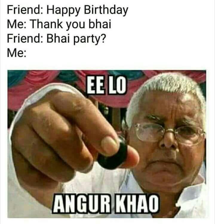 happy birthday Meme Truehindi